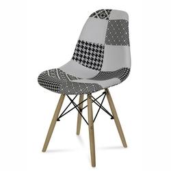 Nowoczesne krzesło ana patchwork