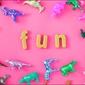 Zabawa - plakat wymiar do wyboru: 80x60 cm