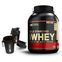 Optimum nutrition whey gold standard 2270 g + shaker smart shake on 400 ml