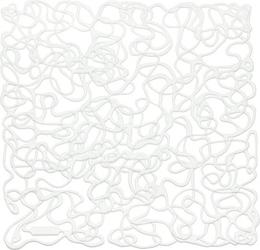 Panel dekoracyjny fusion 4 szt. biały