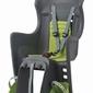Fotelik rowerowy boodie rms szaro-zielony, moowanie na bagażnik