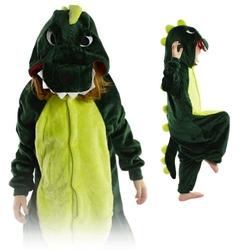 Kigurumi onesie piżama kigu dla dzieci dinozaur