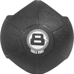 8 kg Piłka lekarska treningowa z uchwytem Gorilla Sports