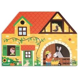 Farma zestaw drewniany story box