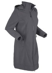 Płaszcz funkcyjny softshell bonprix antracytowy