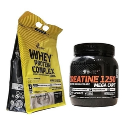 Olimp whey protein complex 100 + creatine mc 400 białko + kreatyna wysyłka 24h