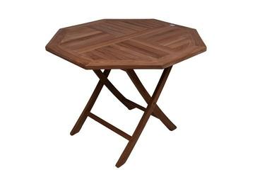 Stół drewniany ogrodowy, stolik drewniany ø 100cm
