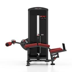Maszyna na mięśnie dwugłowe ud mp-u235 - marbo sport - antracyt metalic  bordowy