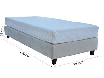 Baza do łóżka 140 cm tapicerowana