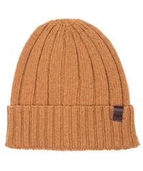Ciepła pomarańczowa czapka profuomo