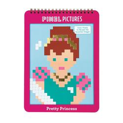 Mudpuppy Kolorowanka pixele Księżniczki