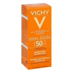 Vichy capital soleil matujący krem do twarzy lsf 50
