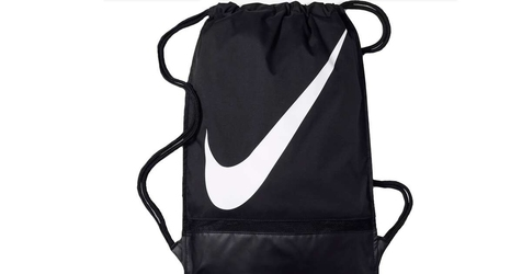 Worek nike football gymsack ba5424-010 one size czarny