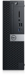 Dell Komputer Optiplex 7070 SFF W10Pro i7-970016GB512GB SSDIntel UHD 630DVD RWKB216  MS1163Y NBD