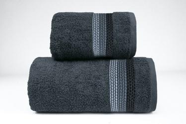 Ombre popielaty ręcznik frotex