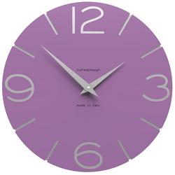 Zegar ścienny Smile CalleaDesign fioletowy 10-005-73