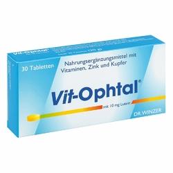 Vit Ophtal 10 mg Luteiny tabletki