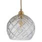 Ebb  flow :: lampa wisząca rowan crystal ø22cm gold