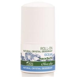 Macrovita olive-elia dezodorant roll-on z naturalnym kryształem ocean 50ml - ocean