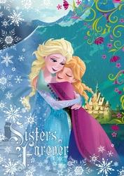 Kraina Lodu Frozen Anna i Elsa - fototapeta