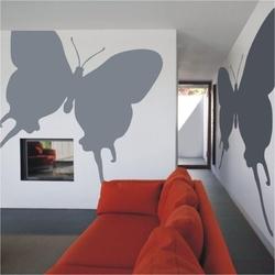 Motyl 20 szablon malarski