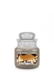 Country candle świeca mały słoik smoke  smores 104g