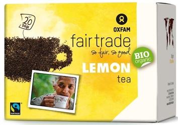 Oxfam | herbata czarna cytrynowa saszetki 36g | organic - fairtrade