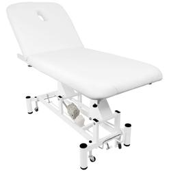 Leżanka elektr. do masażu azzurro 684  1 siln. biała