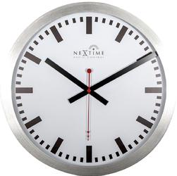 Zegar ścienny ze sterowaniem radiowym Nextime Station 35 cm 3999 STRC