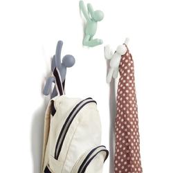 Pastelowe wieszaki ścienne buddy 3 sztuki umbra 318165-370