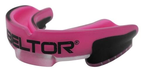 Ochraniacz szczęki beltor six różowo-czarny
