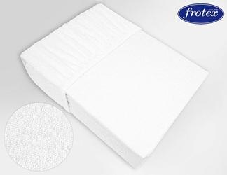 Prześcieradło frotte z gumką Frotex białe 001 - biały