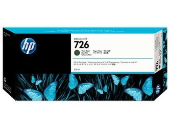 HP Inc. Tusz HP 726 300 ml Matte Black CH575A
