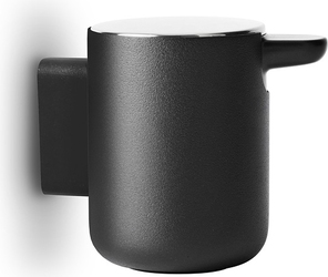 Dozownik do mydła menu ścienny czarny