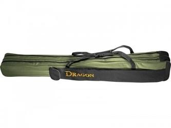 Pokrowiec na wędki dwukomorowy 130 cm, dragon