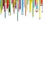 Kolorowe krople tablica suchościeralna magnetyczna 097