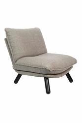 Zuiver :: Fotel lounge LAZY SACK jasnoszary