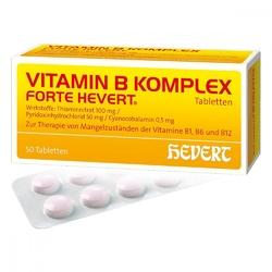 Vitamin b komplex forte hevert tabl.