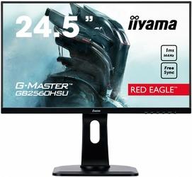 IIYAMA Monitor 24.5 GB2560HSU-B1 1MS  144Hz  HDMI  DP  USB  PIVOT  FLICKER FREE