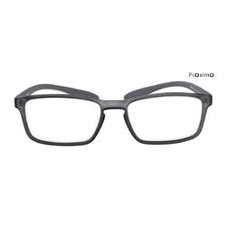 Szare okulary korekcyjne Proximo + 2,0