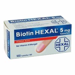 Biotin Hexal 5 mg Tabl.