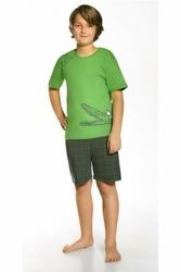Cornette 78934 Hungry crocodile zielony piżama chłopięca