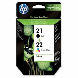 HP 2122 zestaw 2 oryginalnych wkładów atramentowych: czarnytrójkolorowy