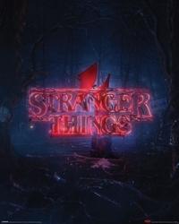 Stranger things season 4 - plakat