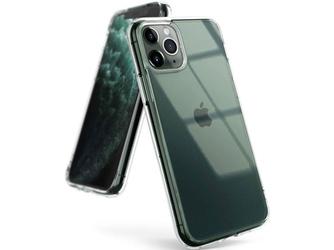 Etui ringke fusion do apple iphone 11 pro clear + szkło alogy