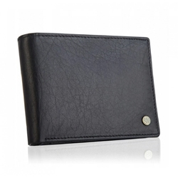 Skórzany portfel betlewski z rfid bpm-bh 60a czarny