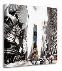 Times Square Vintage New York - Obraz na płótnie