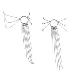 Sexshop - bijoux indiscrets magnifique feet chain srebrny - ozdoby z łańcuszków na stopy - online