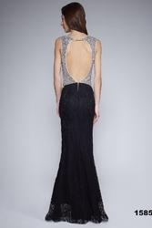 Soky soka  sukienka czarny 48003-1