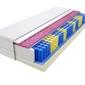 Materac kieszeniowy kolonia molet 130x135 cm średnio twardy visco memory dwustronny